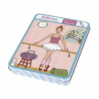 Ballerinas Magnetic Dress-up Dolls
