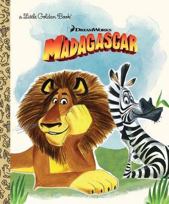 Dreamworks Madagascar (Little Golden Book)