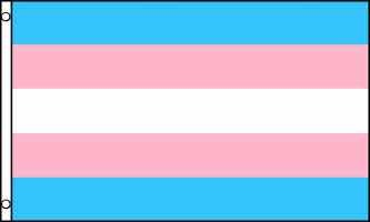 Flag – Transgender Pride 6ft x 10ft (Nylon with Grommets)