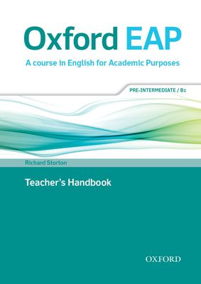Oxford EAP Pre-intermediate/B1 Teachers Book & DVD Pack