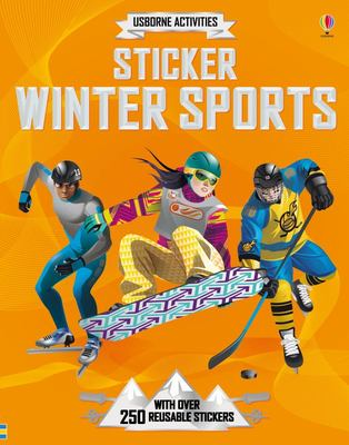 Winter Sports (Usborne Sticker Dressing)