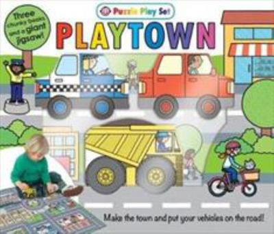 Playtown Puzzle Playset (Board Book Box Set)