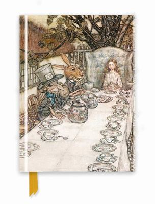 Rackham: Alice in Wonderland Tea Party Foiled Journal