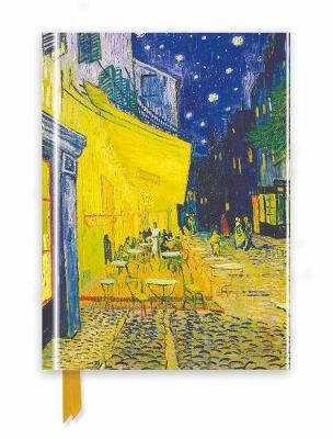 Van Gogh: Cafe Terrace (Foiled Journal)