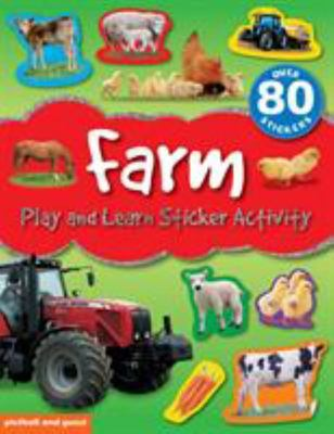 Farm : Play and Learn Sticker Activity