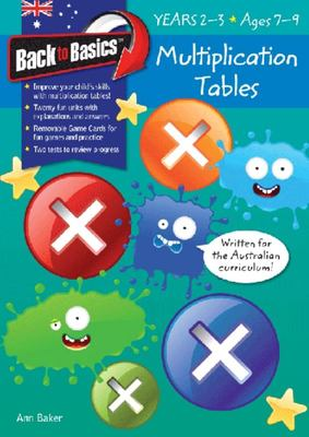 Multiplication Tables Years 2-3 (Back To Basics)