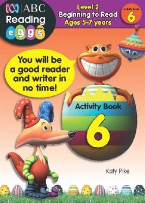 Beginning to Read Activity Book 6 - ABC Reading Eggs Level 2 (5-7 years)