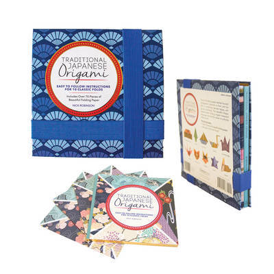 Traditional Japanese Origami Kit: Includes 75 Sheets of Origami Paper and Instructions for 10 Classic Folds