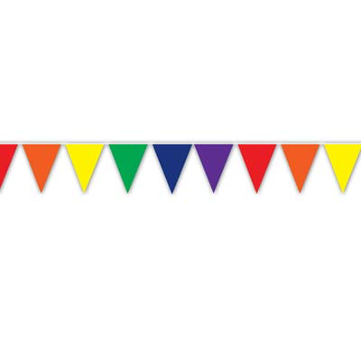 Banner – Rainbow Pennant 12ft (individual colours)