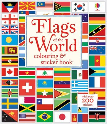 Flags of the World Colouring & Sticker Book