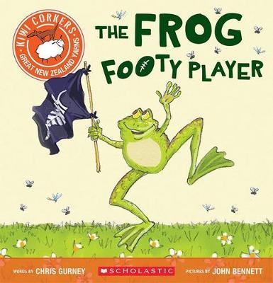 The Frog Footy Player (Kiwi Corkers)