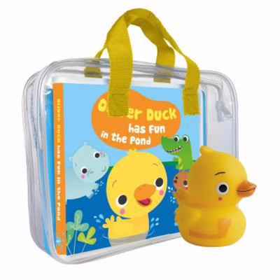 Oliver Duck Has Fun in the Pond (My First Bath Book and Toy)