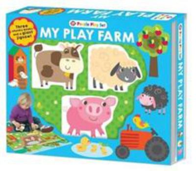 Farm Puzzle Playset (Board Book Box Set)