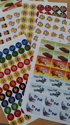 Maori Stickers (mixed pack)