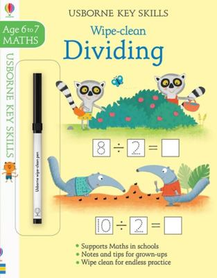 Dividing 6-7 (Usborne Key Skills: Wipe Clean)