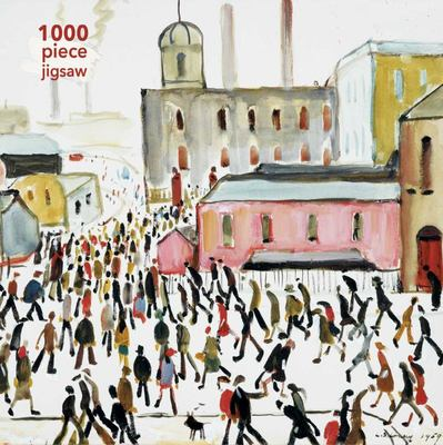 L.S. Lowry: Going to Work Jigsaw