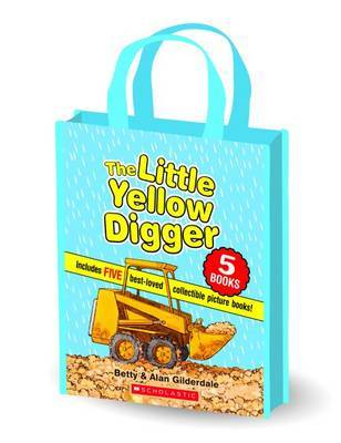 The Little Yellow Digger Gift Bag with 5 Books