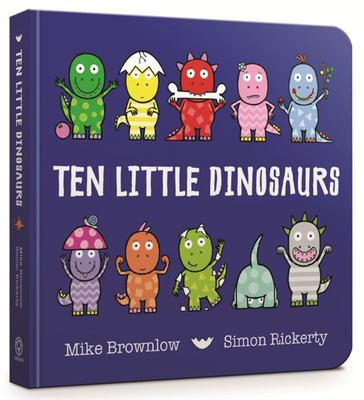 Ten Little Dinosaurs (Board)