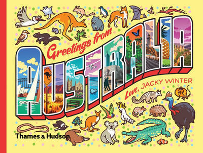 Greetings from Australia - A Postcard & Sticker Book