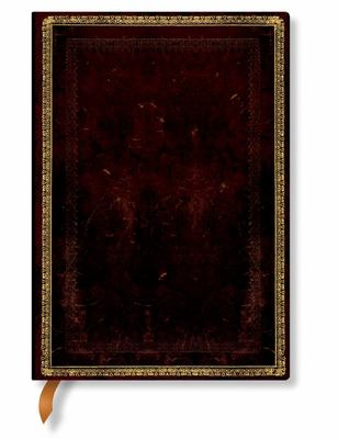 Paperblanks Journal - Black Moroccan (Midi, Lined)