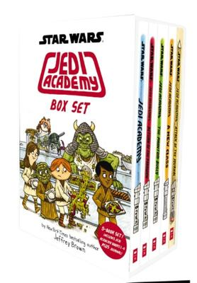 Star Wars: Jedi Academy Box Set (#1-4 + journal)