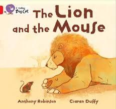 The Lion and the Mouse: Band 02B/Red B