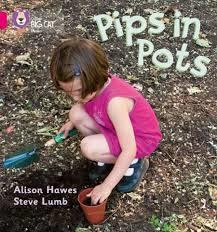Pips in Pots: Band 01B/Pink B