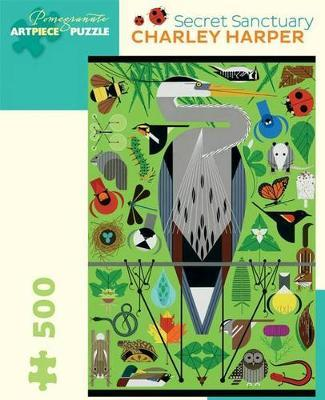 Charley Harper Secret Sanctury 500 Piece Jigsaw Puzzle