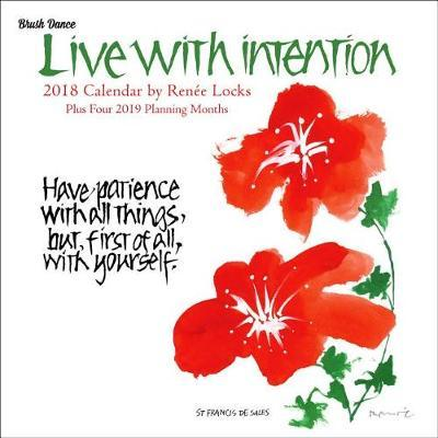 2018 Live with Intention Wall Calendar