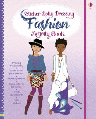 Fashion Activity Book (Sticker Dolly Dressing)