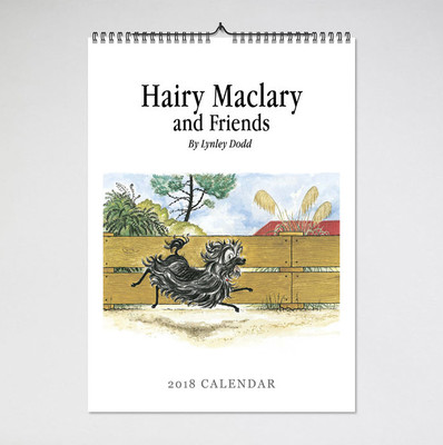 2018 Hairy Maclary and Friends Calendar (BIP 0020)