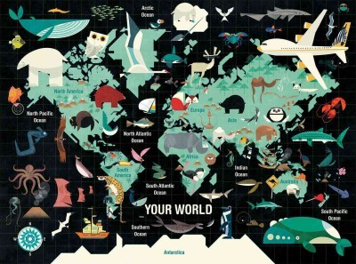 Your World 1000pc Jigsaw Puzzle