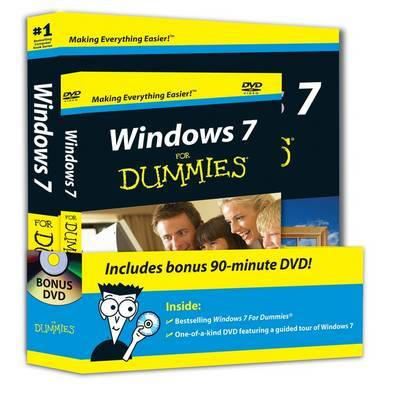 Windows 7 for Dummies Book and DVD Bundle