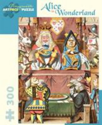 Alice in Wonderland 300 piece kids puzzle