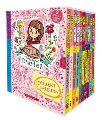 Ella Diaries Excellent Collection (Box Set #1-9 + Journal)