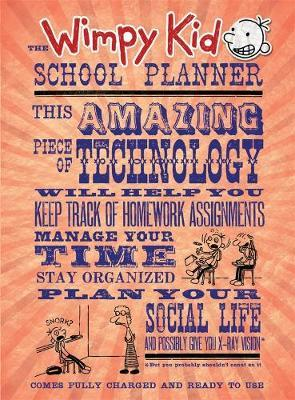The Wimpy Kid School Planner (2018 ed.)