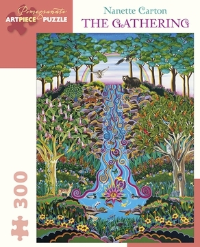 Nanette Carton:The Gathering - 300-piece Jigsaw Puzzle