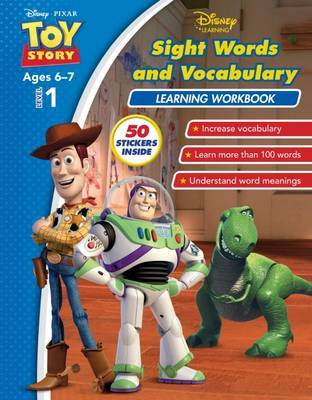 Toy Story - Sight Words and Vocabulary Learning Workbook