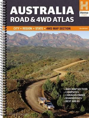 Australia Road & 4WD Atlas 11