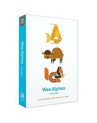 Wee Alphas: 26 A-Z Postcards, from Angelfish to Zebra