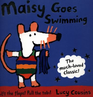 Maisy Goes Swimming (Board Book)