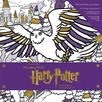 Winter at Hogwarts: A Magical Harry Potter Colouring Set