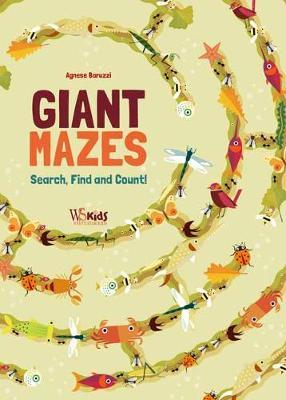 Search Find and Count : Giant Mazes