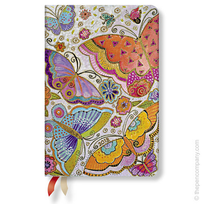 2018 Paperblanks Flutterbyes Week-at-a-time Mini Horizontal diary
