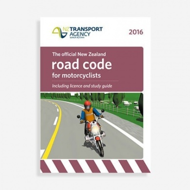 Motorcyclists Road Code 2016 dont reorder