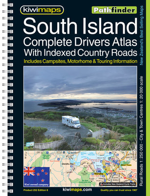 South Island Complete Drivers  Atlas