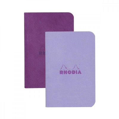 Rhodiodiarama Set of 2 Soft Cover - Purple & Iris Lined