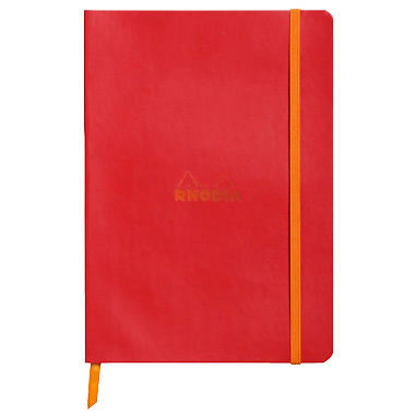 Rhodiadiarama A6 Softcover Notebook  Lined - Poppy