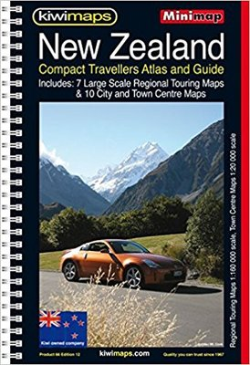 New Zealand Compact Road Atlas