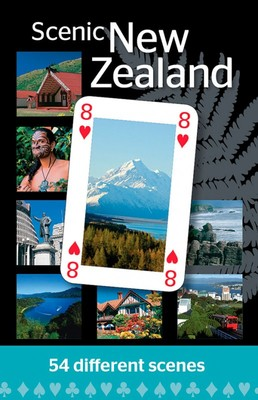 Playing cards - Scenic New Zealand